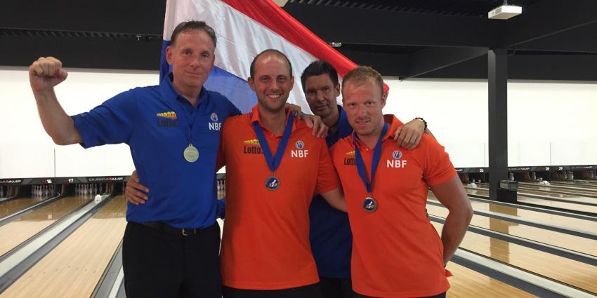 Nederlands team sluit EK bowlen af met twee keer brons