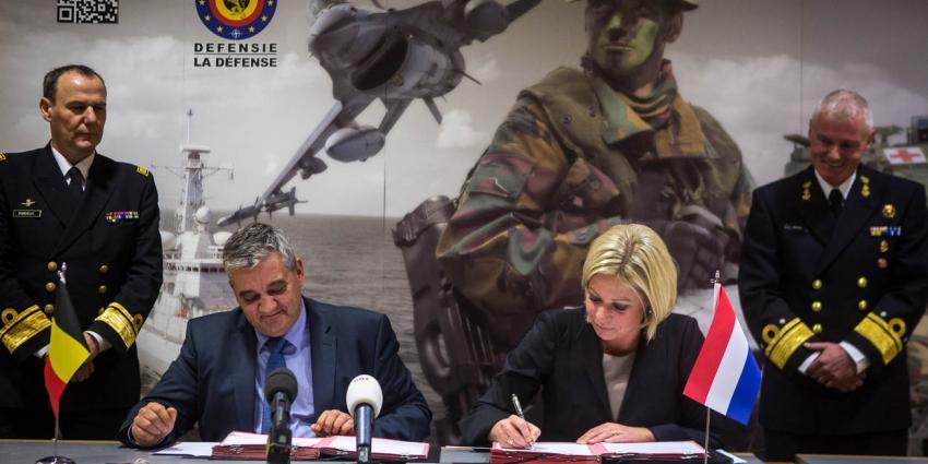 Intensievere samenwerking Nederlandse en Belgische marine