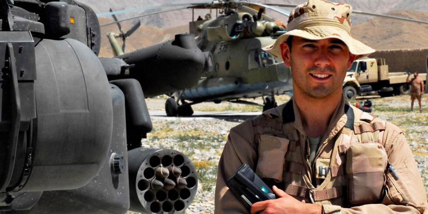 Apache-vlieger Roy de Ruiter wordt nieuwe drager Militaire Willems-Orde