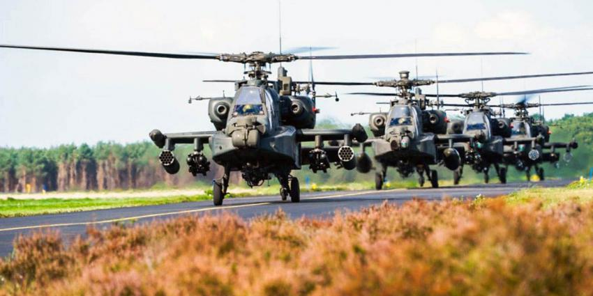 deelen, vliegbasis, oefening, helikopter, vliegtuig