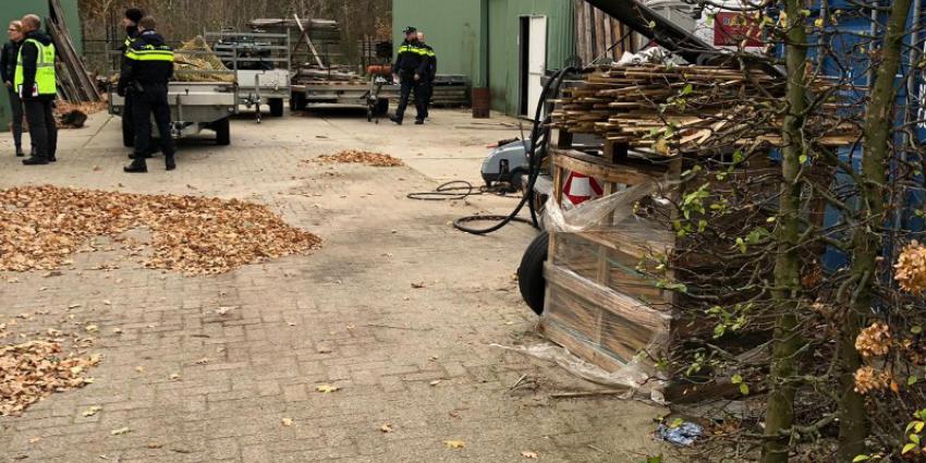 Onderzoek op industrieterrein in Rosmalen