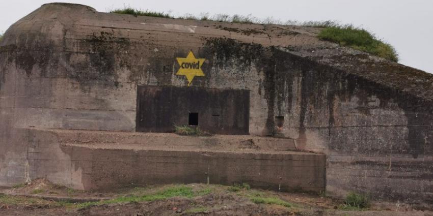 Covid-sterren op bunker