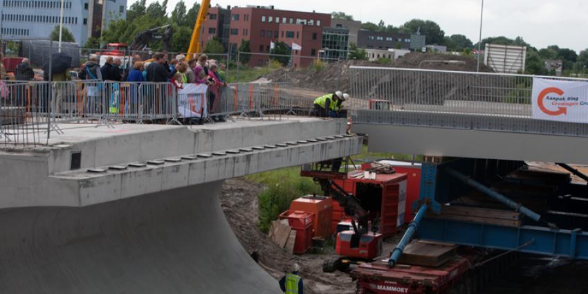 Foto van viaduct over ringweg oost Groningen | Rieks Oijnhausen | rieksoijnhausen.nl/