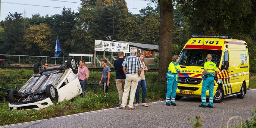 Shoarmabezorger van de weg af in Boxtel