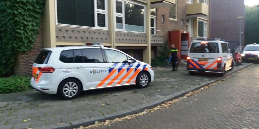 Veel politie in Bataviastraat