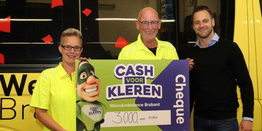 Drieduizend euro ingezameld voor Wensambulance Brabant