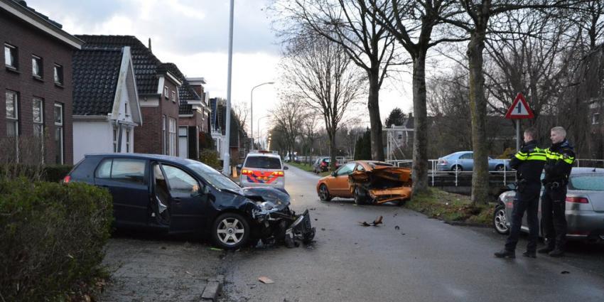 Automobilist richt ravage aan in Wildervank