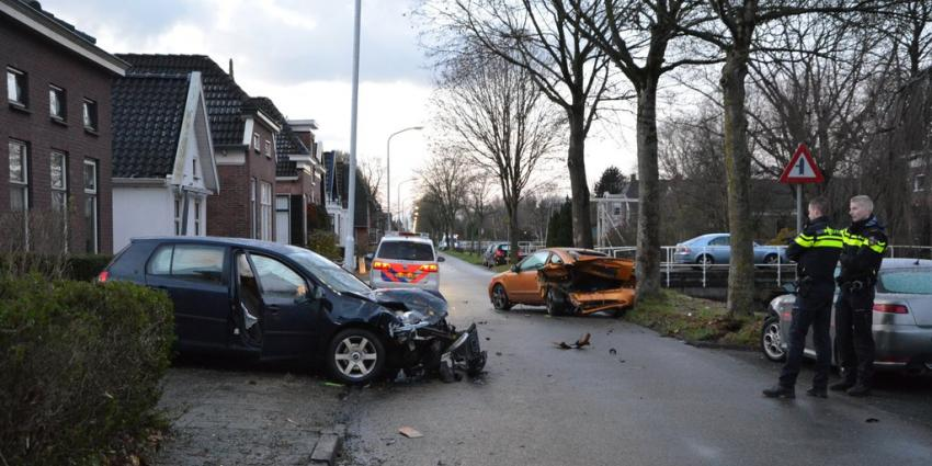 Automobilist richt ravage aan in Wildervank