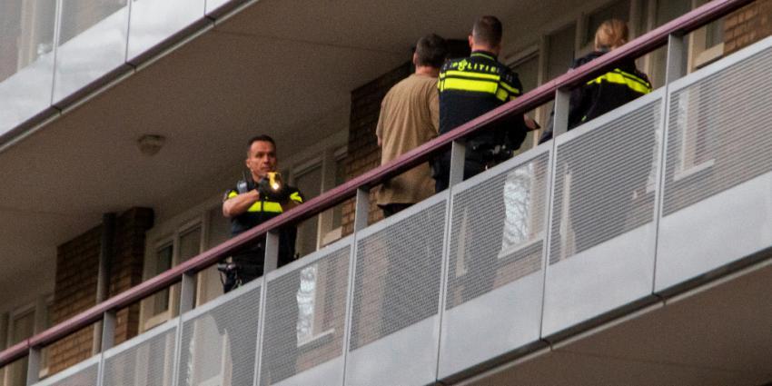 Man getaserd door politie bij burenruzie
