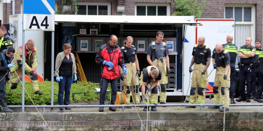 Dode in water Amsterdam gevonden
