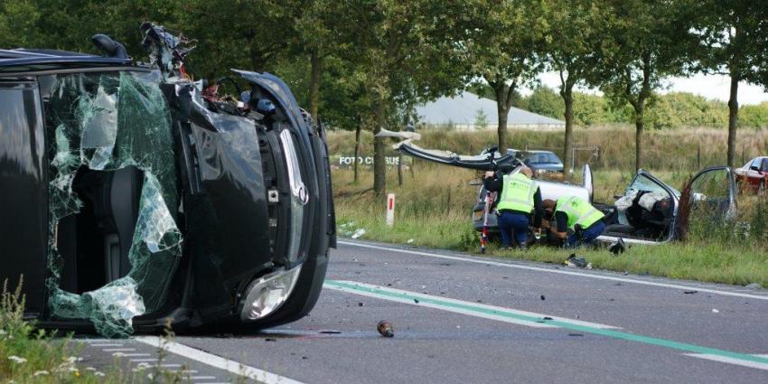 Twee gewonden bij ongeval N366