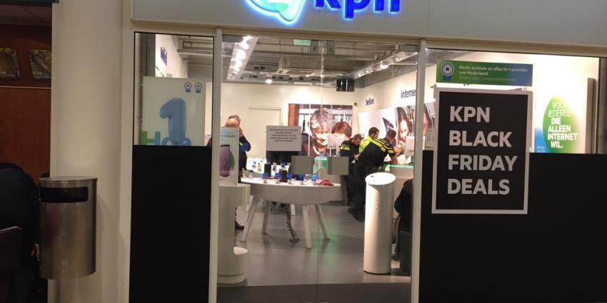 Overval op KPN winkel in Schiedam