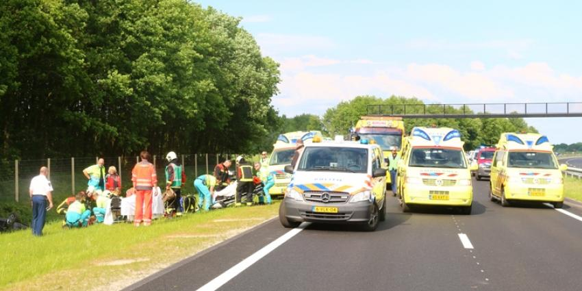 Foto van aanrijding N33 | Van Oost Media | www.vanoostmedia.nl