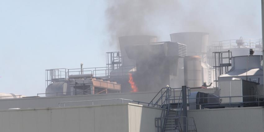 Vlammen slaan uit het dak DOC Kaas Hoogeveen