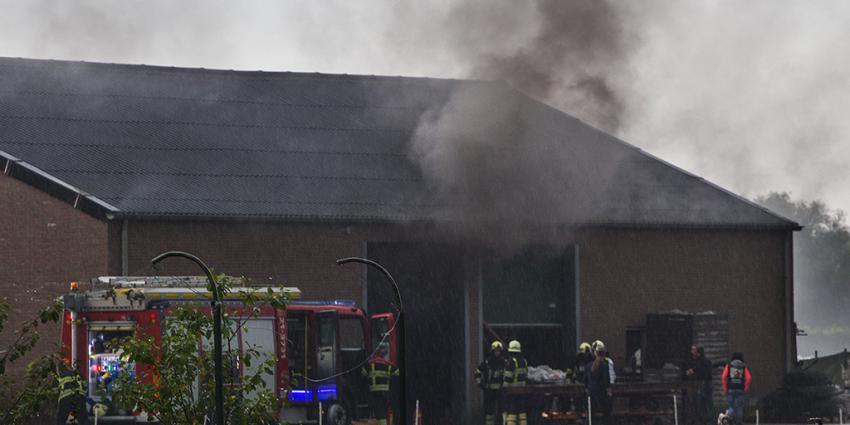 Brand in loods buitengebied Sint-Oedenrode