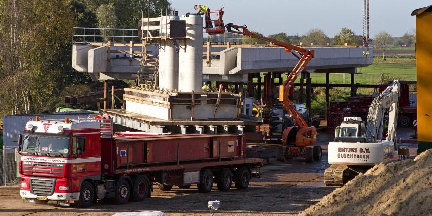 Werkzaamheden spoorwegviaduct over N33 | Stichting VIP | www.parkstadveendam.nl