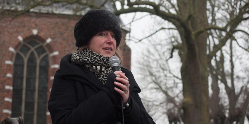 Protestmanifestatie van de Groninger Bodem Beweging | Rieks Oijnhausen | rieksoijnhausen.nl/