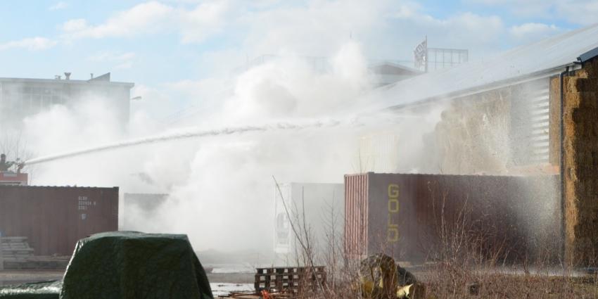 Brand in voormalig pand van Suikerunie