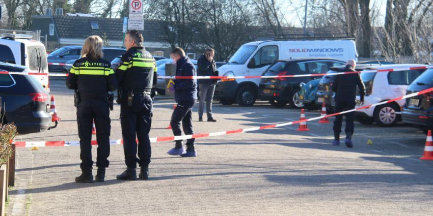 Politie doet onderzoek naar schietpartij en bloedsporen