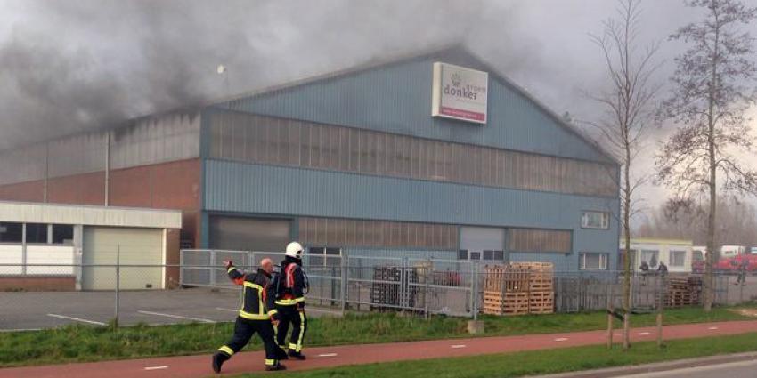 Grote brand in loods Groningen | Tim Kuiper