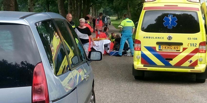 Fietser overleden bij ongeval in Peize