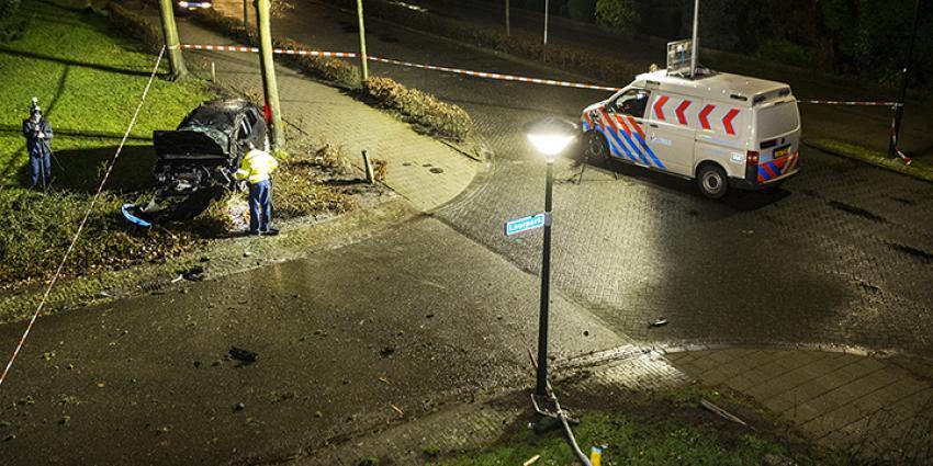 Foto van crash in Veghel | Persburo Sander van Gils | www.persburausandervangils.nl