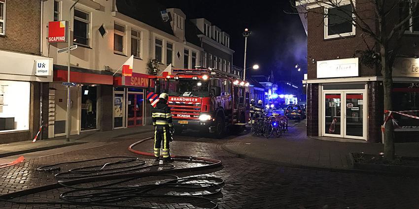 Uitslaande woningbrand in Boxtel