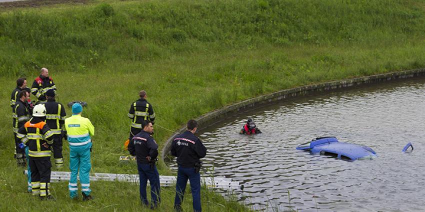 Foto van auto te water | Persburo Sander van Gils | www.persburausandervangils.nl