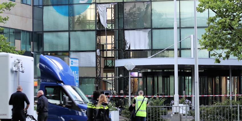 Aanslag op gebouw Telegraaf