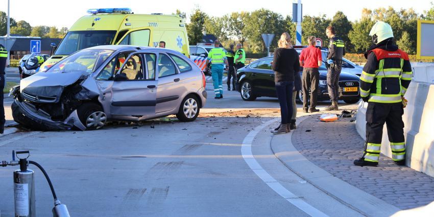 Ernstig verkeersongeval op N617 bij Sint-Michielsgestel