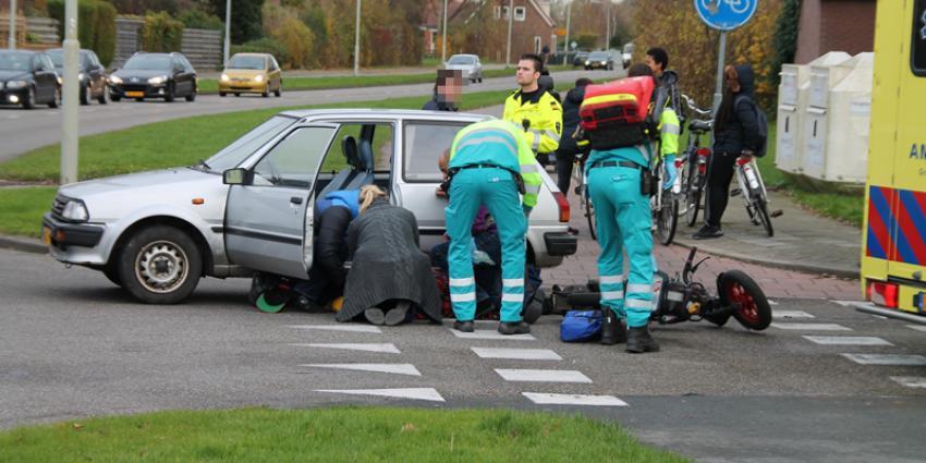 Foto van aanrijding in Delfzijl | MV Blik op Nieuws