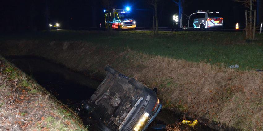 Vrouw gewond bij ongeval in Wildervank