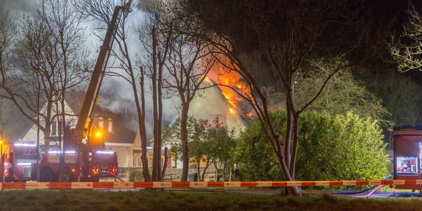 Woningbrand aan Groningerweg
