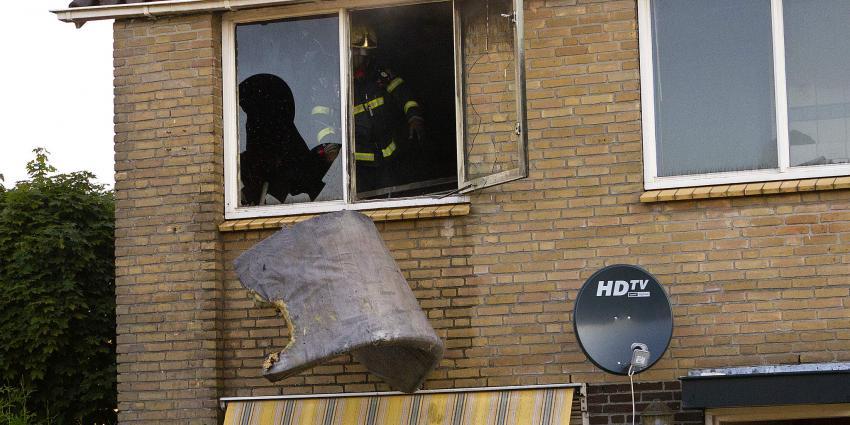 Foto van brand in Veendam | Stichting VIP | www.parkstadveendam.nl