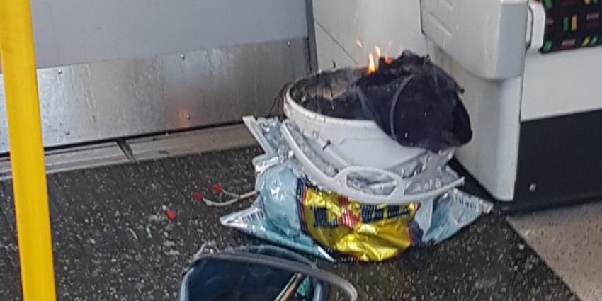 Gewonden bij ontploffing in Londense metro