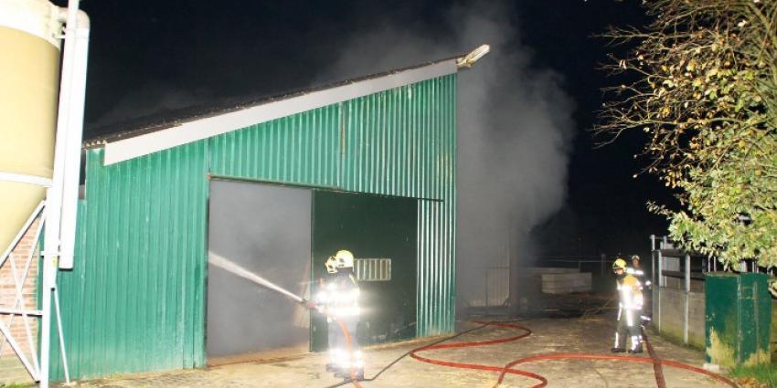 Foto van brand in manege Pesse | Henk Brunink