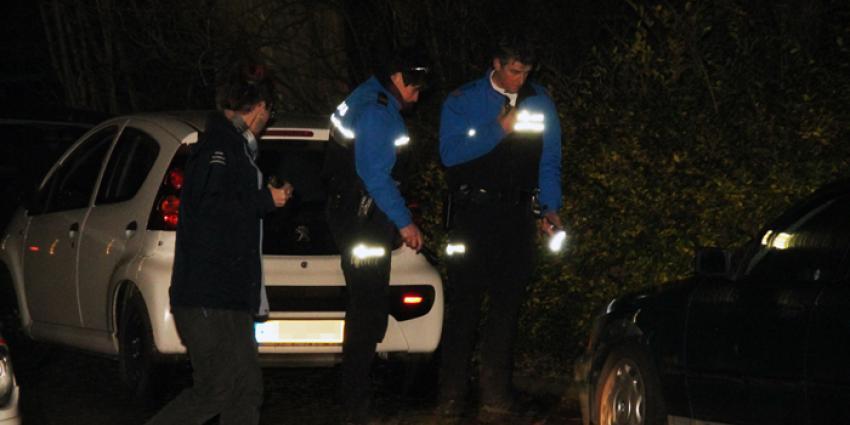 Mishandeling en steekincident, politie houdt vijf personen aan