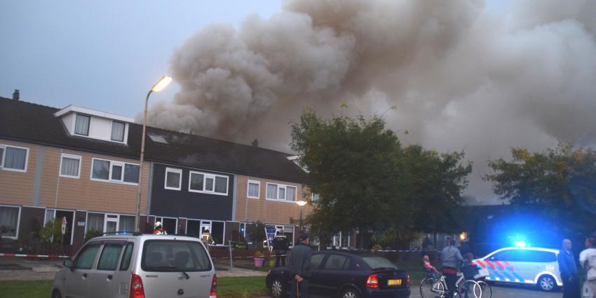 Grote brand in Hollandscheveld