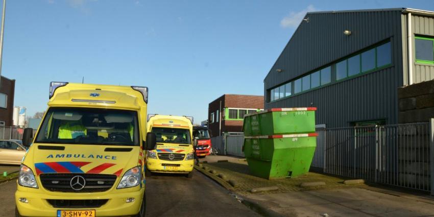 Dode bij bedrijfsongeval in Groningen