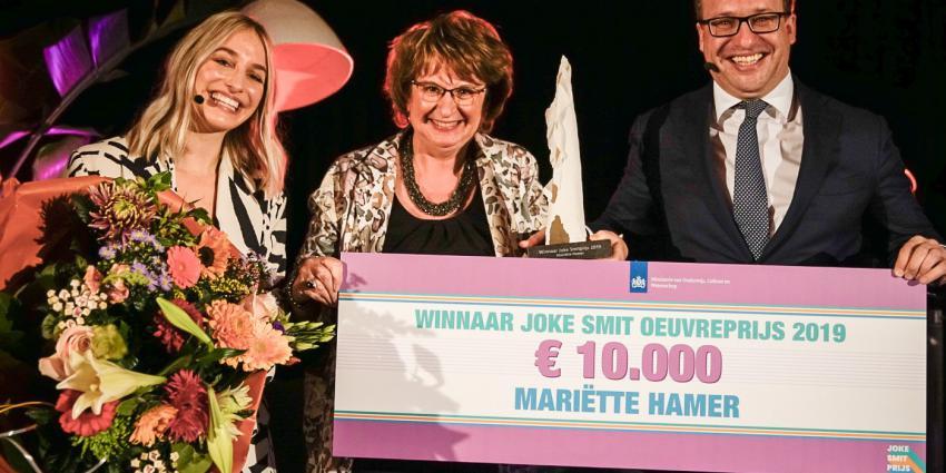 SER-voorzitter Mariëtte Hamer wint Joke Smit oeuvreprijs voor emancipatie