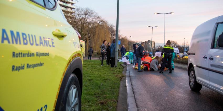 Scholieren aangereden door auto in Schiedam
