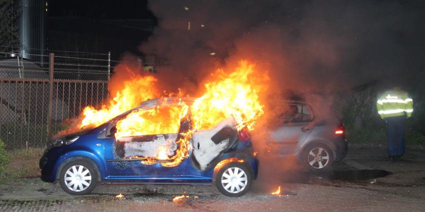 Foto van autobrand in Hoogeveen | Henk Brunink