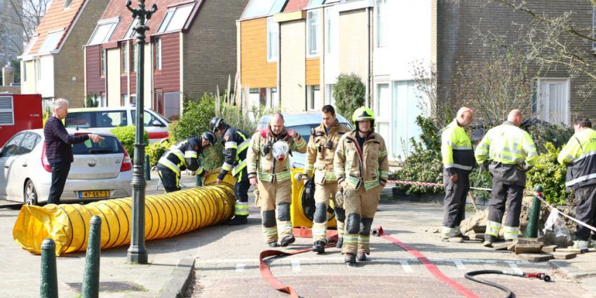 Kruipruimte vol gas na werkzaamheden