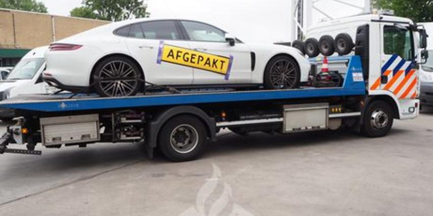 Foto van in beslag genomen Porsche