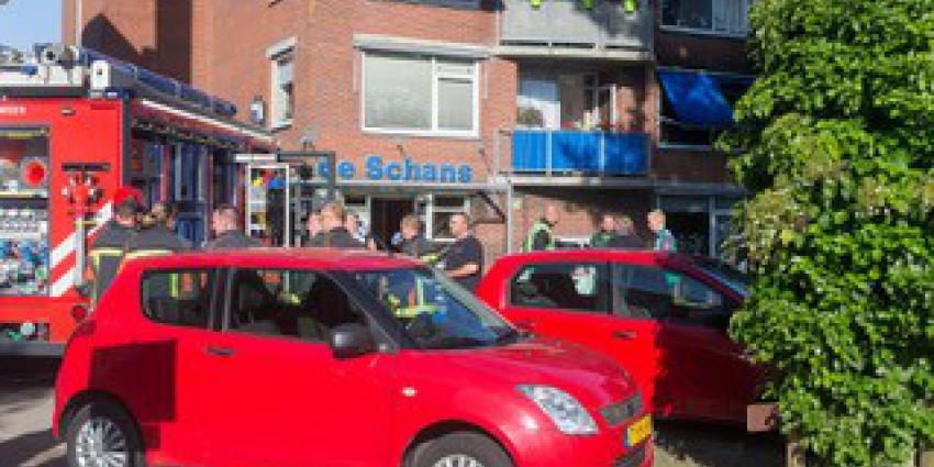 Grote woningbrand in Winschoten