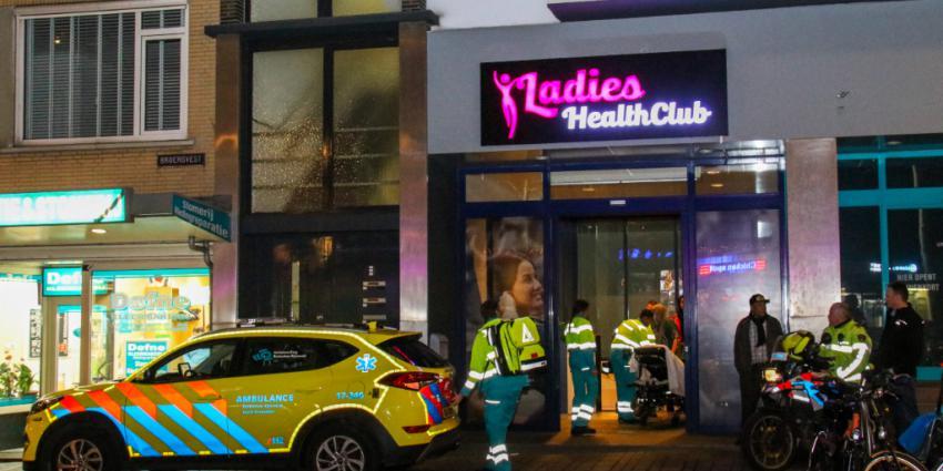 Allergische reactie in Ladies Healthclub