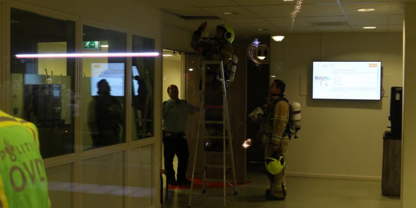 Eerste hulp Maasstad ziekenhuis gesloten na kortsluiting in plafond