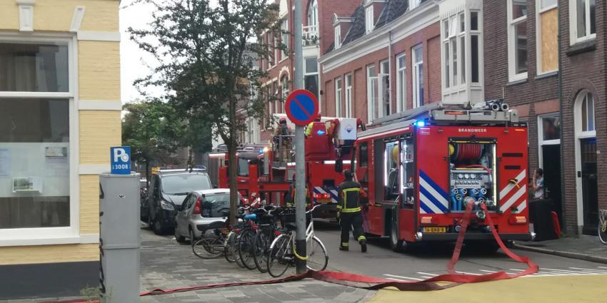 Brandweer aanwezig in Kleine Kruisstraat