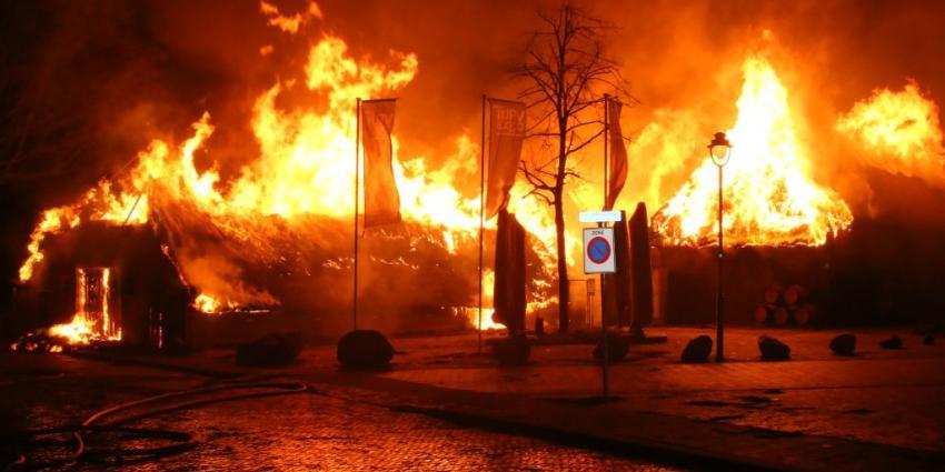 Rechercheteam onderzoekt brand in Exloo