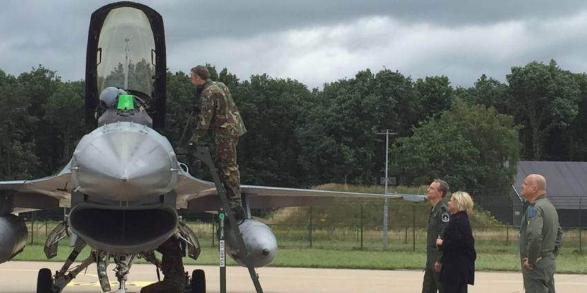 F-16's terug op Volkel